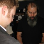 Ant meets Steve Earle! May 2013