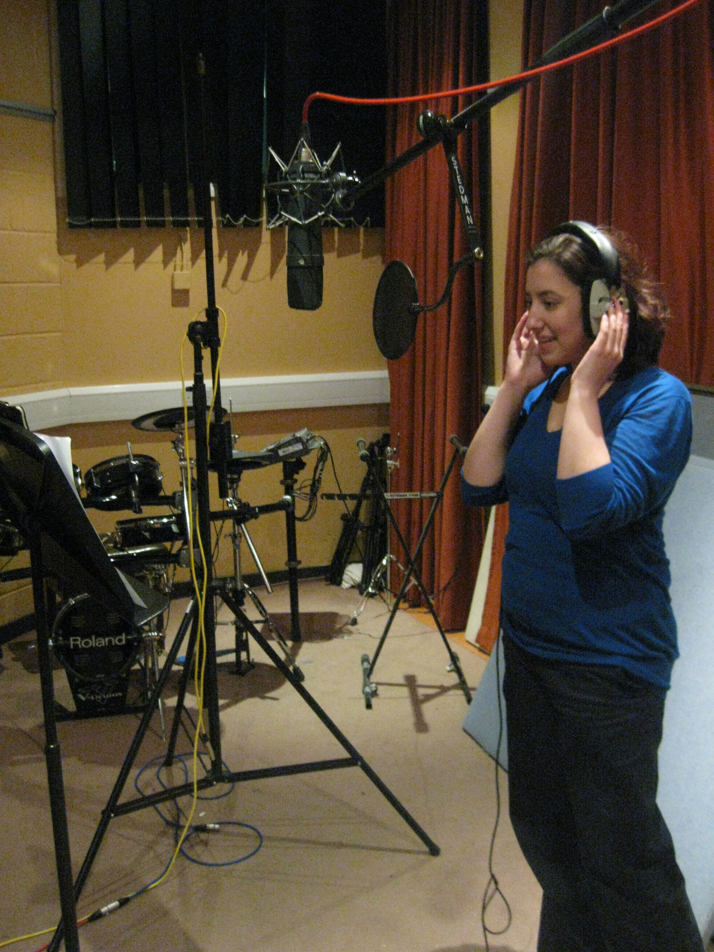 Recording HR in 2009 (Laura)